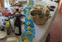 duck birthday theme