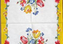 Vintage kitchen towels / by Diane Fennell