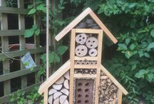 Bug hotel / Weekend project with my 6 year old son, he loved rushing round collecting materials and build it.