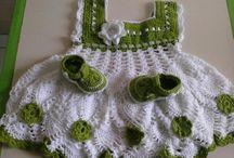 crochet vestidos niñas