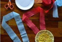 Olympic Fever: Kids' Activities / Get your kids excited about the Winter Olympics 2018 with these great DIY activities, arts and crafts, games, printables, coloring pages and food-inspiration to celebrate the wonder of sports (all while learning about different countries, flags and sportsmanship, yay!)