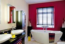 Colourful Bathrooms