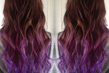 Rainbow hair / Bright hair, neon hair, rainbow hair, galaxy hair, mermaid hair, pastel hair, olaplex, manic panic