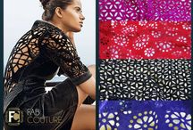 Laser Cut Velvets / Floral Laser cut velvets to keep you warm and gorgeous this winter season!