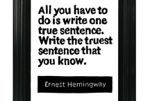 Hemingway  / by T Russell Hart