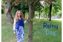 FASHION - Rainy day