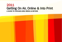 """Our Media Guide / A retrospective of the many looks of the """"Getting On Air, Online & Into Print"""" media guide!"""