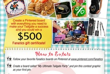 My Ultimate Tailgate Party! / by Tabitha Stout Fredricks