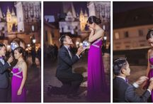 Prague wedding proposal - Charles Bridge