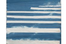 Original prints by David Gonville / Original works on paper, cyanotype, monotype, and mixed media.
