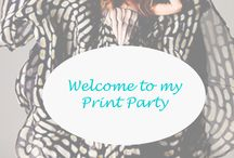Welcome to my Print Party / This is all the spring/ summer 2014 prints that we love at Nyopoly!