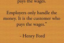 Customers service / by Ashley Crosby