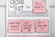 Organizing Lists, Boards & Printables