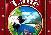 Ruby Lane / A new book by RJ Simon:  Ruby is overexcited again, and her brain is spinning creative ideas so fast it feels like her head could explode!  Luckily, it's school holidays, so she's allowed to stay up late, reading adventure stories and playing dress-ups with her cat.  But when things get out of control, Ruby decides that helping a crazy pirate cat return a malfunctioning book to its rightful owner is the only logical solution…  Ruby Lane:  Facebook Page: goo.gl/KYUioS Website: goo.gl/nY8Cr5