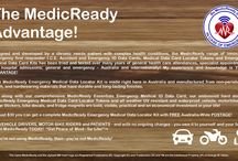 """Are You MedicReady? / ACCIDENTS, EMERGENCIES, HOSPITAL ADMISSIONS, and SICKNESS. """"Don't put Your Life, Health, or Safety at Risk! Take Control of your Health and get MedicReady TODAY!"""" If you're not using MedicReady, then - you're not MedicReady!  Don't discover that YOU NEED MedicReady by accident!"""