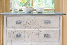 Ideas for Emily / Painted furniture and soft furnishings.