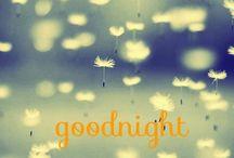 Buenas noches / Mil maneras dulces de decir buenas noches