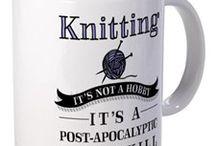 Knitting ha ha