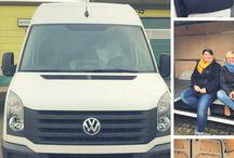 VANLIFE - VW CRAFTER AUSBAU / DIY VW Crafter Campervan Ausbau. Hier könnt ihr unseren Ausbau vom LKW zum Tiny Home mitverfolgen.  Stay marvelous, Katrin and Sandra