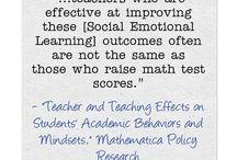 Social Emotional Learning: Noncognitive Skills