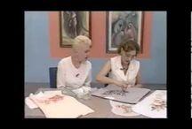 Videos antigos de Pintura em tecido do programa Note e Anote