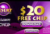 Free Casino Cash / Find all the no deposit sign up offers and promotions here! / by Streak Gaming