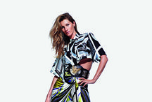 Emilio Pucci Spring Summer 2014  / Photographed by Mario Sorrenti Model Gisele Bündchen