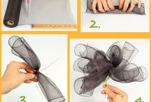 Mesh Ribbon Wreaths / by Melissa Green