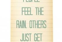 RAIN ..