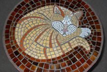 Crafts, mosaic, knitting, crochet