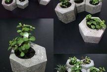 Jardineras de cemento