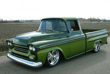Pick-em-up trucks! / for Haulin' / by Mark Arnold