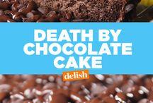 death by choc cake
