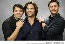 Supernatural / The magic that is Supernatural. #SPN  Jared, Jensen & Misha  / by Jaclyn Lorimer