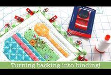 Binding Tips, Tricks, + Tutorials