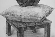 Naturmort karakalem