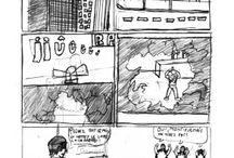 manga - bande dessinée / dessins des ateliers et des stages de BD - Manga