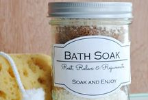 DIY bath & scrubb