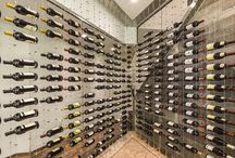 Modern Wine Cellars / Modern custom wine cellars featuring the Cable Wine System. Versatility, sophistication... www.cablewinesystems.com