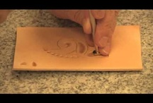 Leather / Leather Carving, tooling, making Ideas / by Lauro Galvan