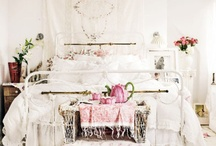 lovely bedrooms / by Cori Henderson