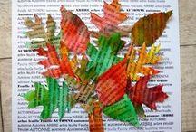 Arbre mot d'automne