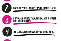 Business Branding Tips / All things branding. How to get yourself out there, how to build your brand, brand styles, and tips to maximise your impact.