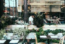 Restaurant inspo / Boho, indie, rustic, modern