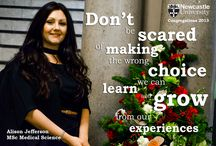 Graduate Quotations / Inspirational quotations from our graduates