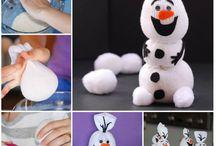 Sock snowman
