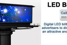 Social on LED Signs Billboards