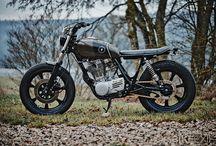 Scrambler / custom motorcycle
