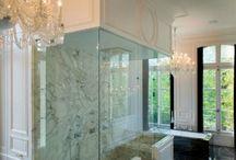 Bathroom shower seat