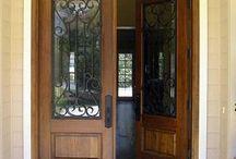 Puertas madera exterior